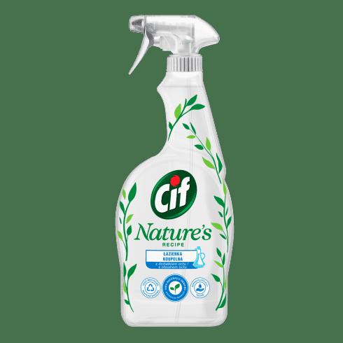 Cif Nature Spray do łazienki z dodatkiem octu