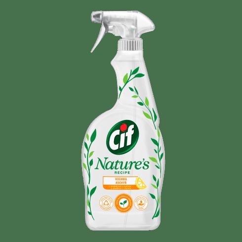Cif nature spray do kuchni z ekstraktem z cytryny packshot